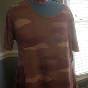 Lularoe XL perfect pink camo